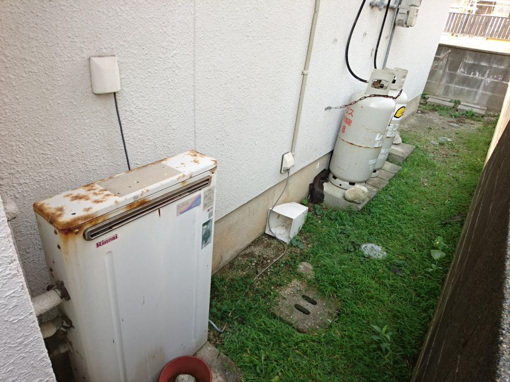 早良区戸建てのガス給湯器