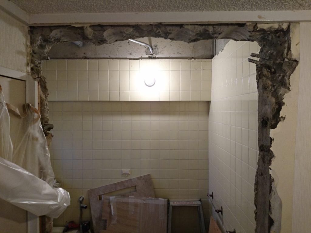 早良区 マンションの浴室工事