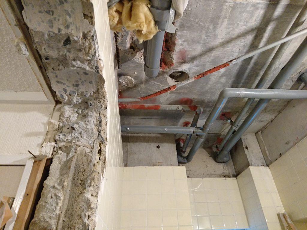 早良区マンションの浴室工事