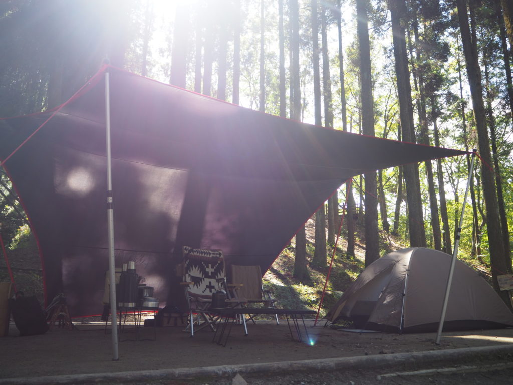 週末ソロキャンプ